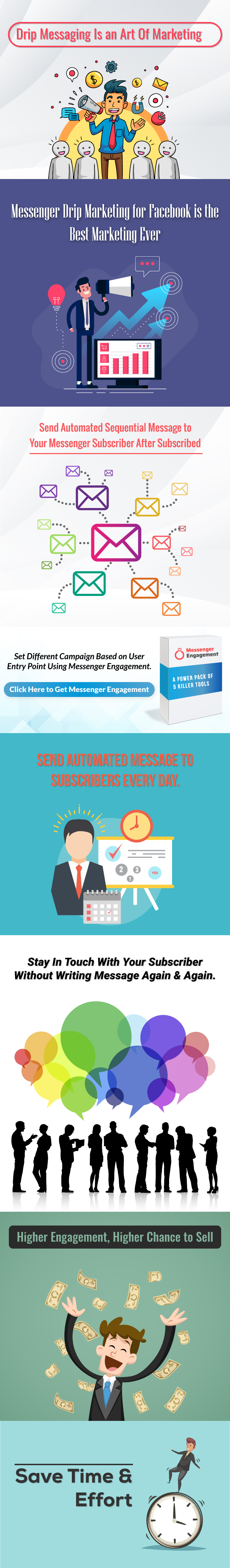 Messenger Drip Campaigner - A Bot Inboxer Add-on : Send Sequential Message to Messenger Subscriber - 6